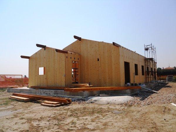Case in legno xlam