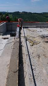 Realizzazione di nuova piscina privata in opera a Bologna colli