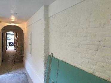 Sistemazione parti comuni del condominio in centro storico a Bologna