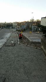 Opere stradali di rifacimento marciapiedi, attraversamenti e percorso tattili per ipovedenti a Casalecchio di Reno