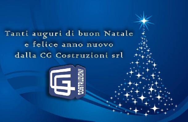 Auguri di buona Natale e felice anno nuovo...