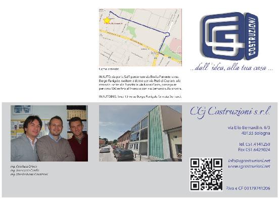Nuova brochure CG Costruzioni !!!